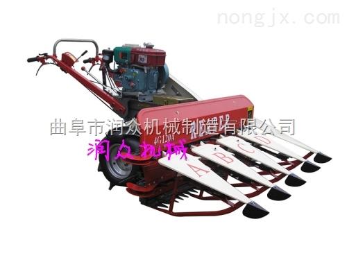 玉米芦苇割晒机