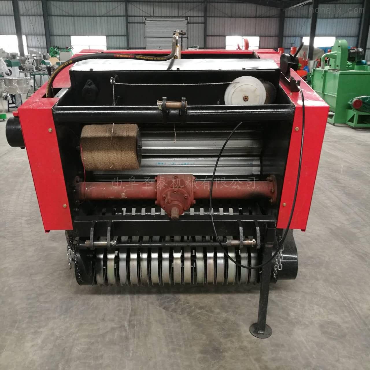 麦草捡拾打捆机小型圆捆打包机