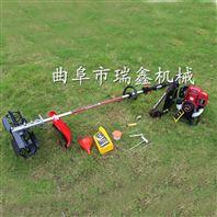 汽油大棚锄草机 动作流畅小型锄草机 汽油动力除草机