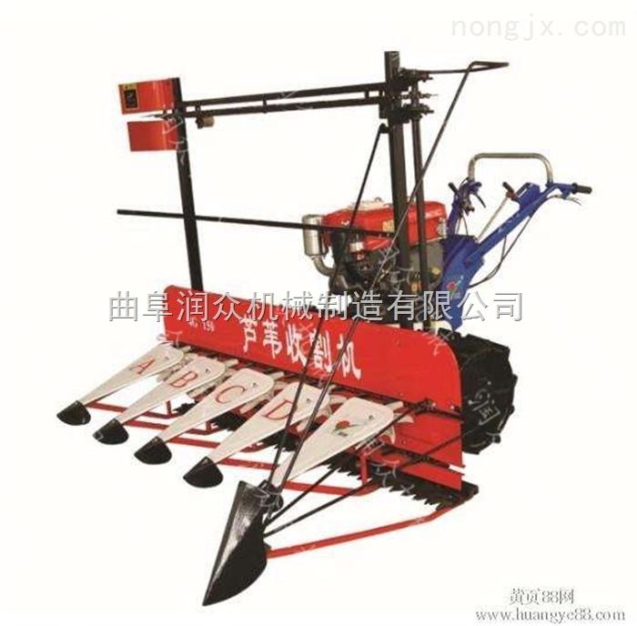 高作物秸秆辣椒收割机 水稻小型收割机