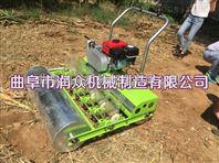 免间苗的蔬菜播种机 汽油均匀茼蒿播种机