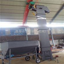 NE50板鏈鋼斗式提升機,石灰粉灌裝垂直上料機