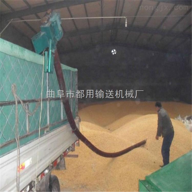 电动车载式软管吸粮机,玉米小麦装车抽粮机