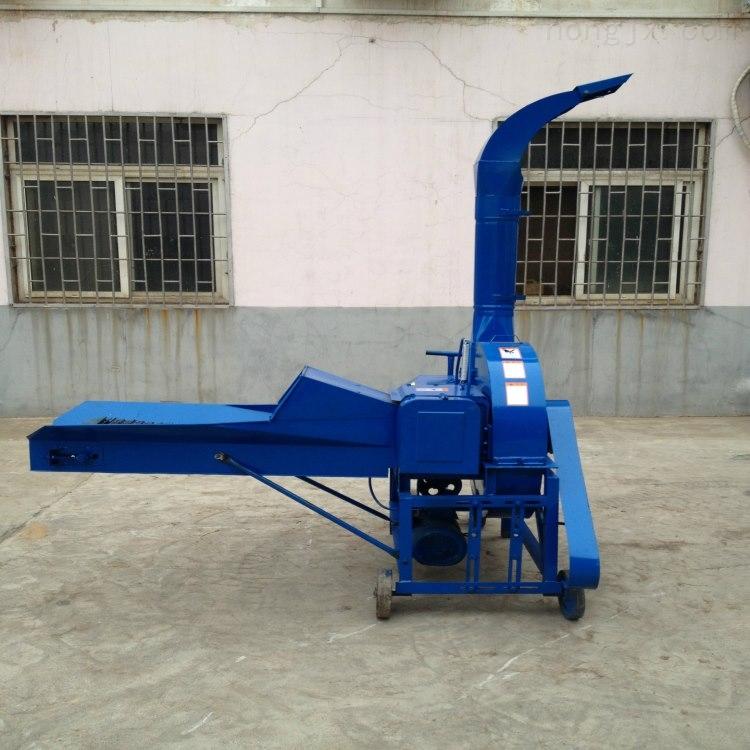 厂家直销高喷式铡草机 秸秆揉丝机价格