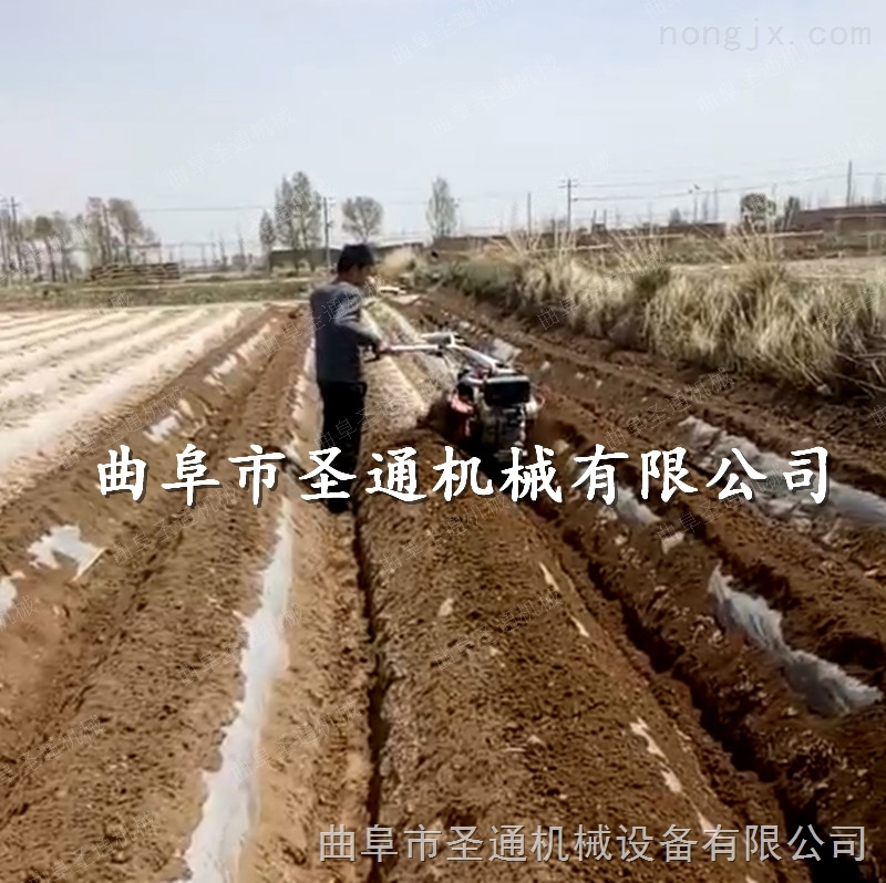 萍乡橙园施底肥开沟机 大马力柴油旋地开沟机