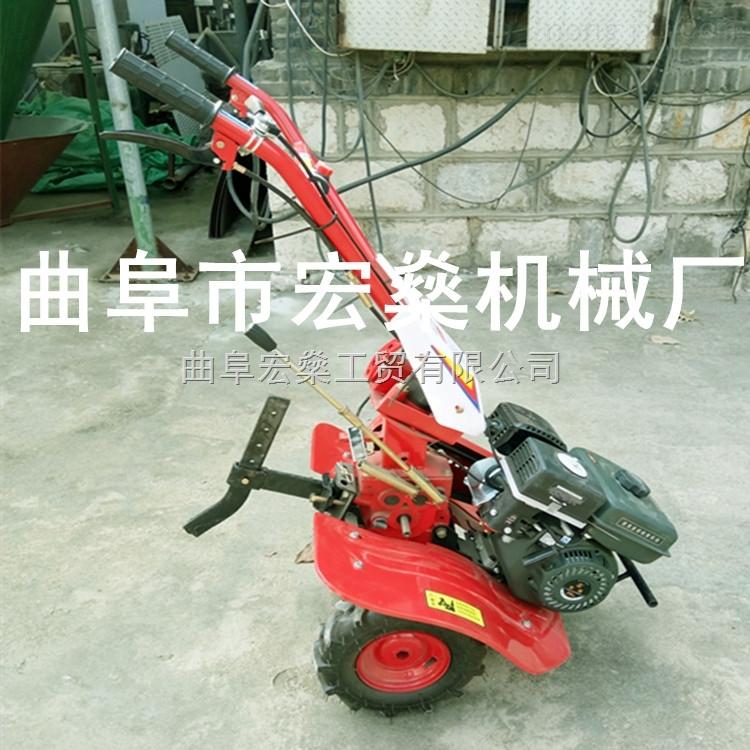 四冲程小型耕地机 手扶旋耕机 自走式微耕机