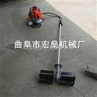小汽油机背负式割草松土机 小型锄地机