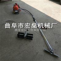 新疆紫云英小型收割机 混合油背负式锄草机