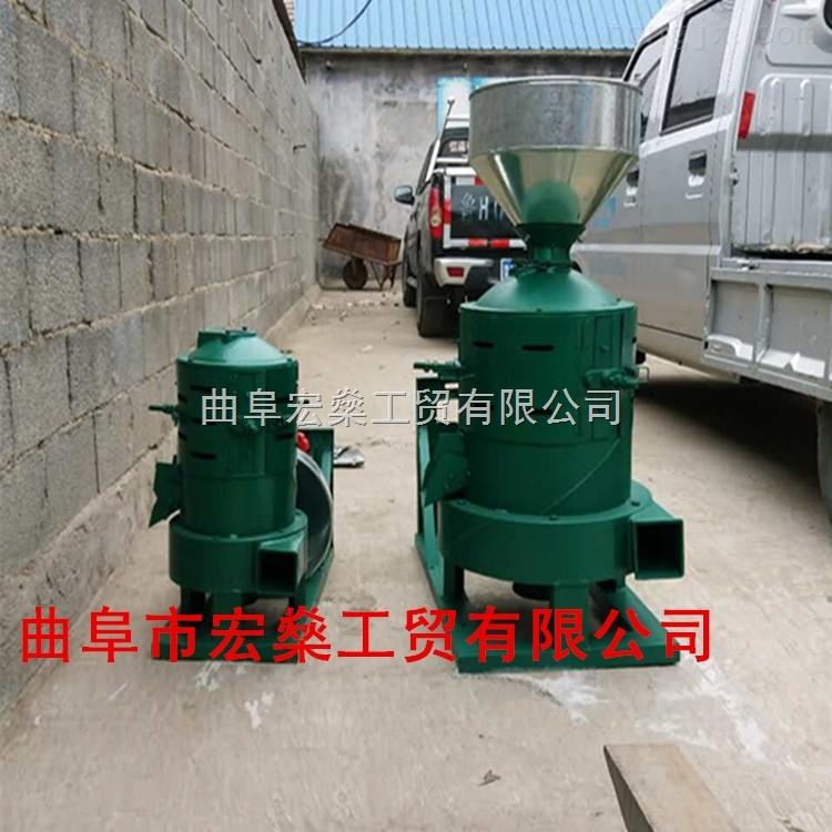 330型砂轮式大米小米碾米机