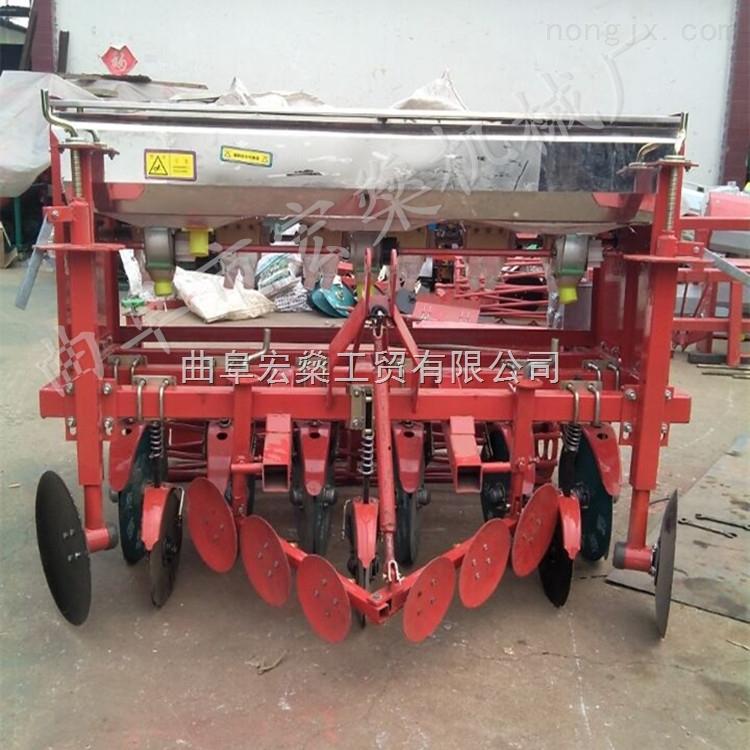 雞東縣四輪車帶谷子播種機 小顆粒蔬菜精量播種機械廠