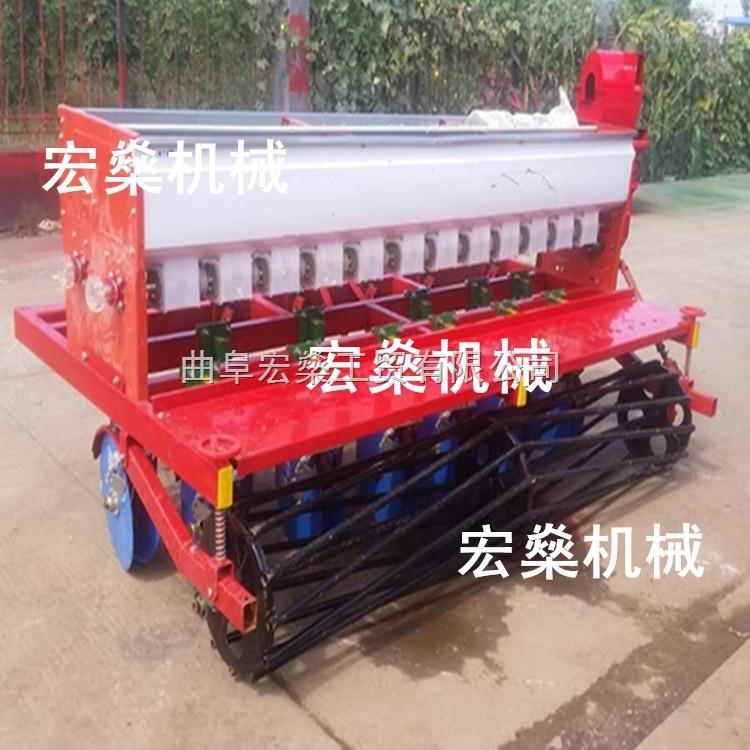 小麦高粱谷子大豆玉米播种机 拖拉机带动小麦施肥播种机