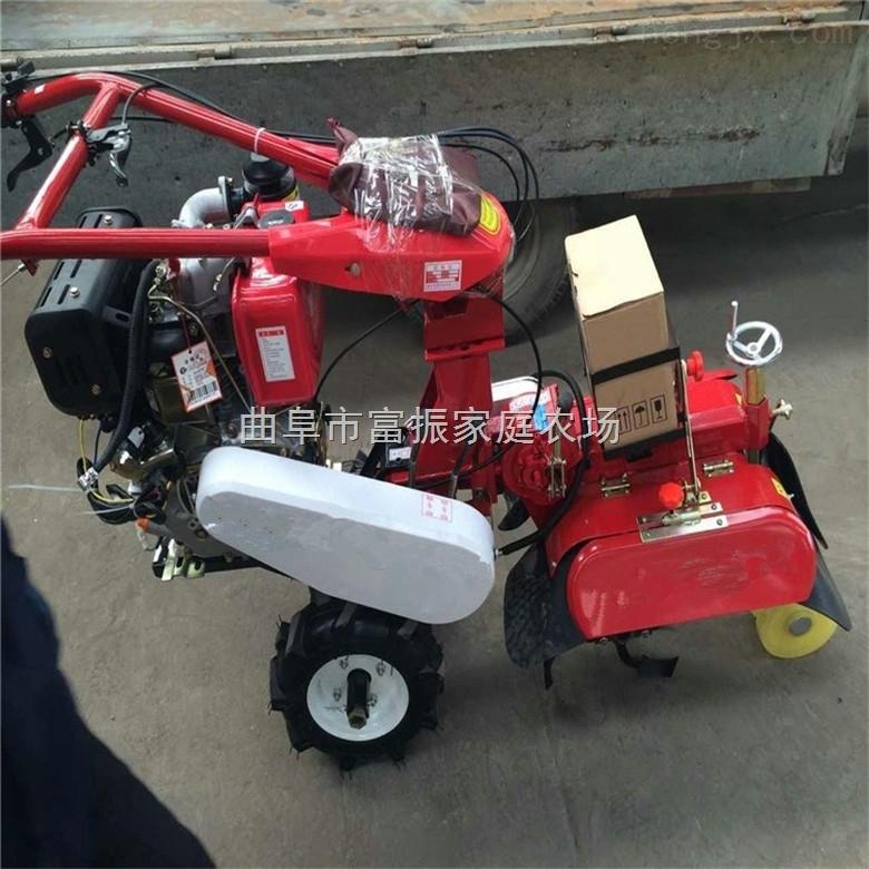 批量供应带差速器微耕机田园管理机新型开沟培土机