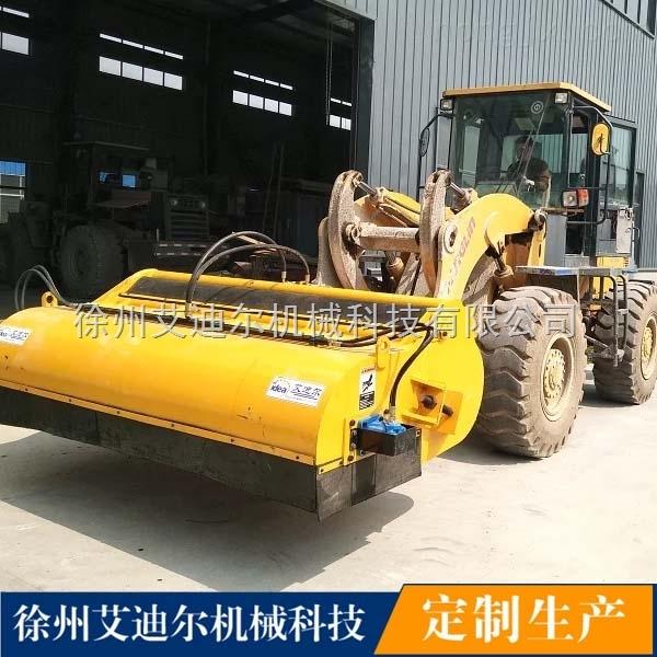 徐州艾迪尔idea9001装载机扫地机,大型路面清扫器设备