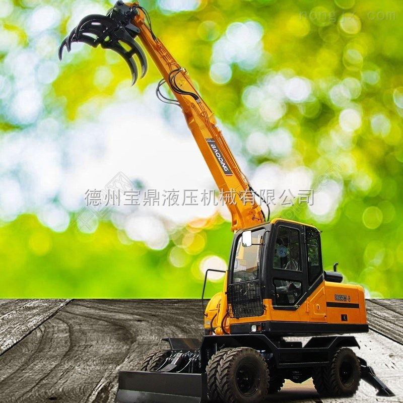 多功能小型轮式挖掘机厂家价格