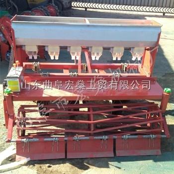 HS-丹阳玉米施肥播种机 手推式小麦玉米播种机