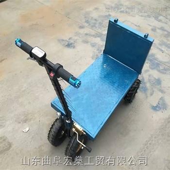 小型手推車 四輪平板車 電動搬運車