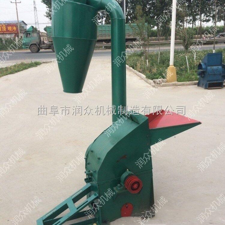 大产量秸秆粉碎机 干湿饲料粉碎机 铡草揉丝机