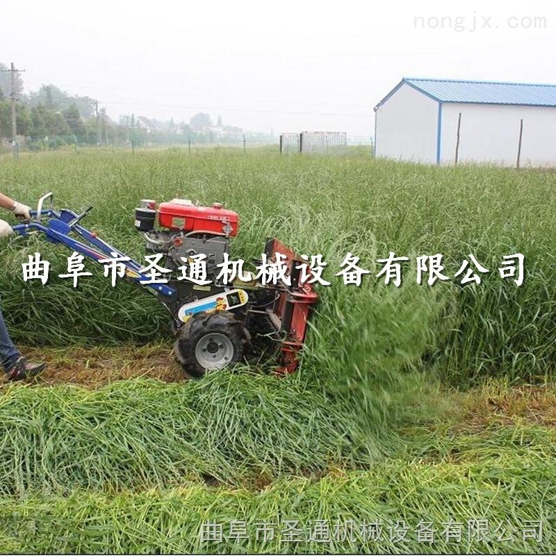 小型谷物收割机,手推式麦稻放片割晒机