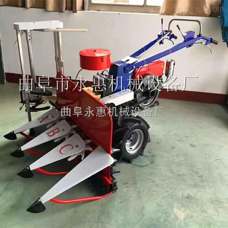 割晒机玉米辣椒收割机  厂家供应小型大豆农作物收获机