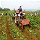 割红薯秧机视频 红薯收获机 红薯杀秧打捆一体机