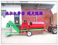山西自动装袋摘果机 富兴立式花生摘果机 多功能花生收获机厂家