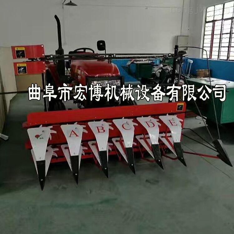 茴香苜蓿草收割機 艾草油菜割曬機 手扶式小型秸稈收割機