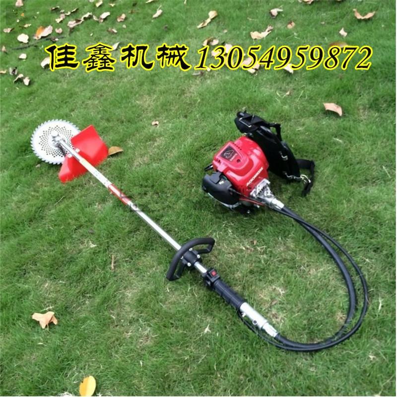 四驱草坪车 领动机械花园剪草打草机  直销