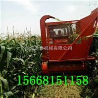 粉碎型玉米秸秆收割机 青储秆收获机厂家