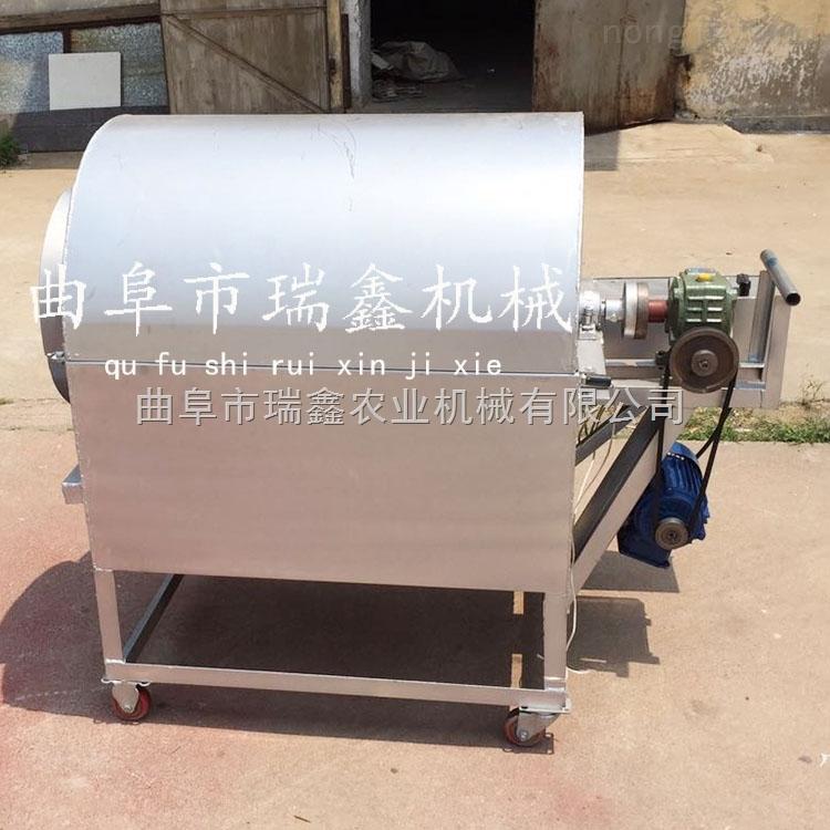 休闲食品加工机器 小型粮食烘干机 多功能电加热炒货机