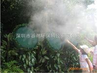 四川假山人造雾工程