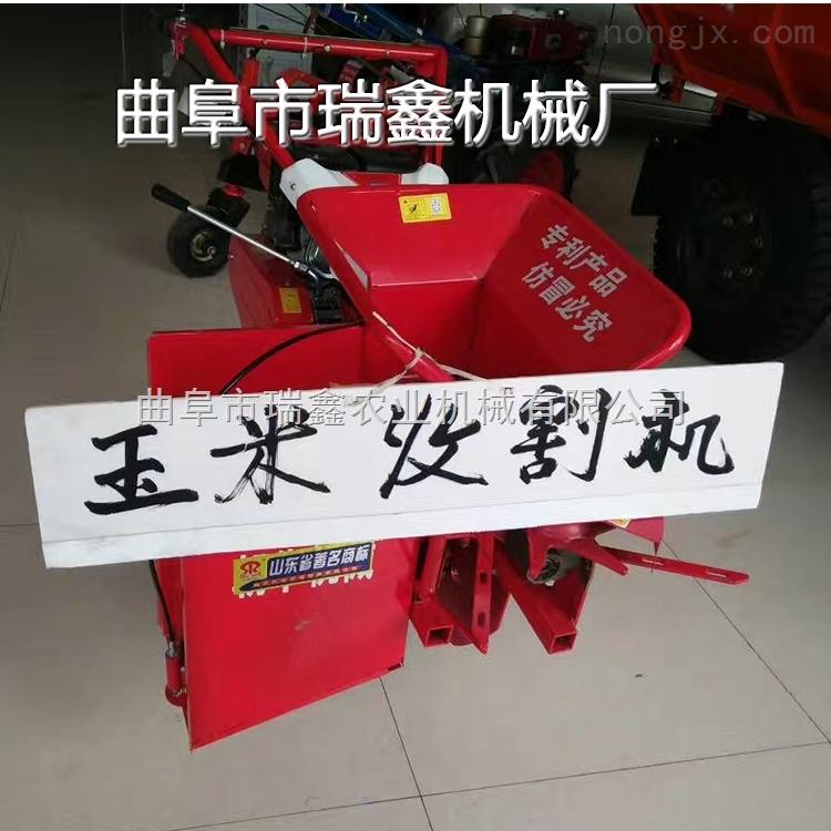 玉米收获割台链条传动 玉米秸秆粉碎一体机 优质掰玉米机