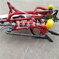 家用新型花生收获机 自走式带秧铺放机