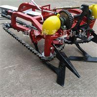 低损率花生收获机 高性能带秧铺放收获机