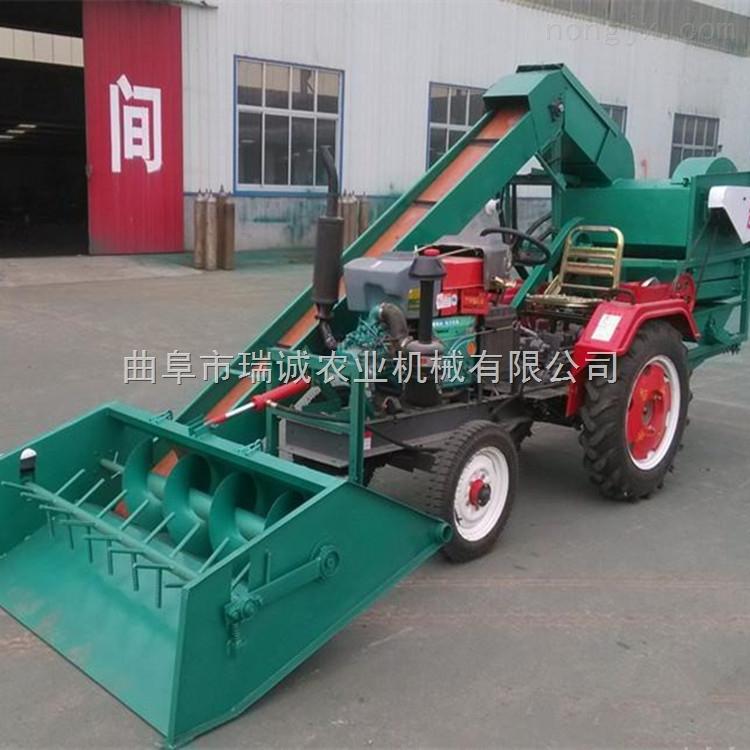 自动上料玉米撕皮脱粒机 拖拉机背负式玉米脱粒机