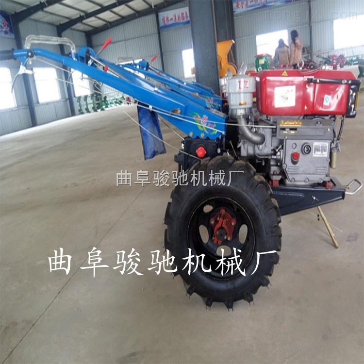 JC-土壤耕整旋耕机 座单铧犁防滑轮带柴油机