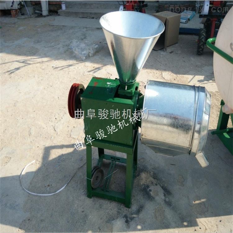 农村小型面粉加工机械玉米小麦去皮磨面机