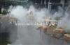 甘肃喷雾加湿系统人造雾设备花园造景