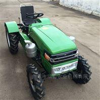 單缸帶后輸出四輪拖拉機
