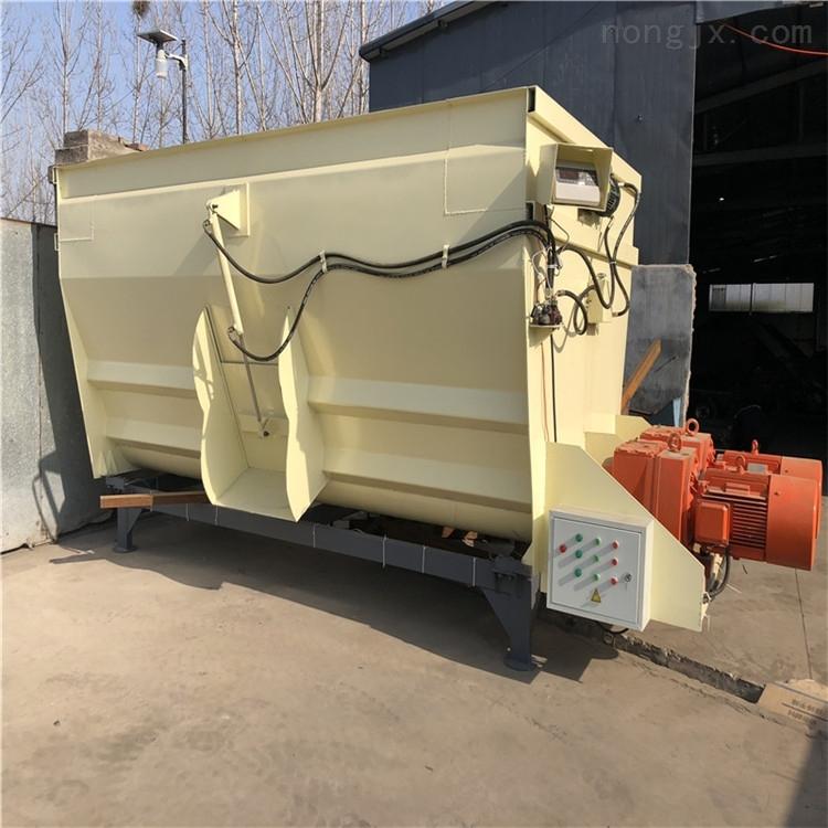 立式2吨搅拌机 车载式拌料机 养殖场混料机