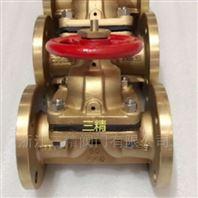 黃銅法蘭隔膜閥