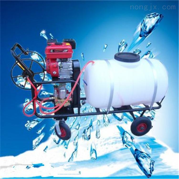 多功能双管打药机 高压电动喷雾器