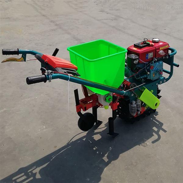 柴油双行链辊式播种机