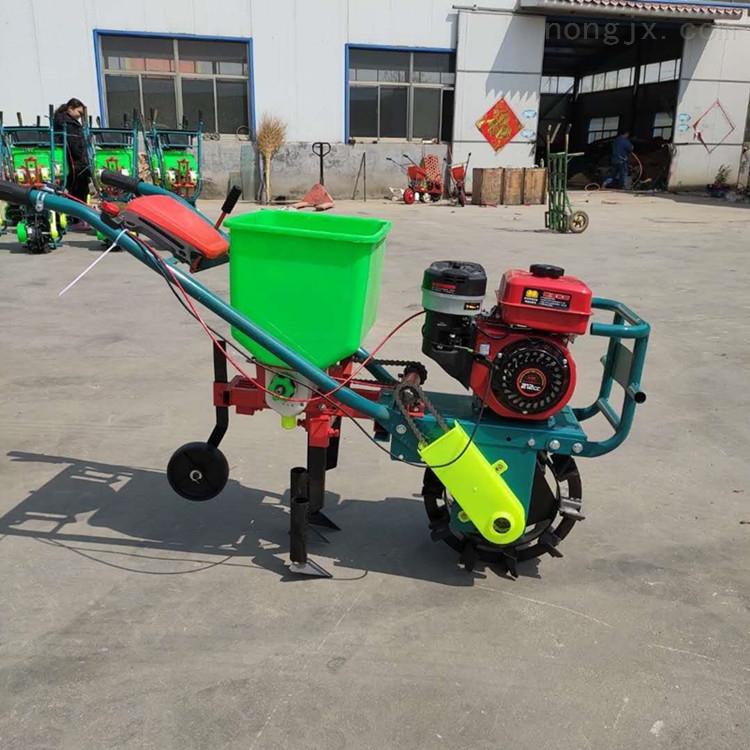 汽油玉米施肥播种机