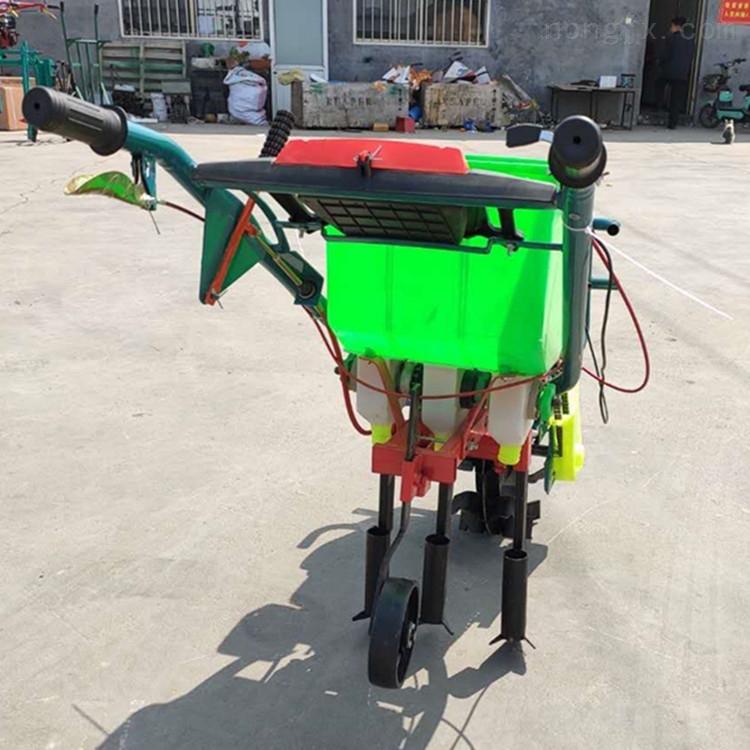 黔南州家用汽油玉米精播机免耕施肥播种机