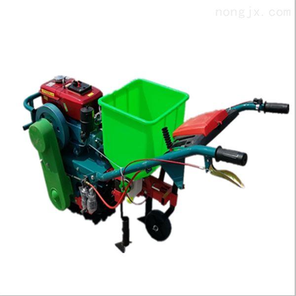 3腿播种篓汽油施肥播种机