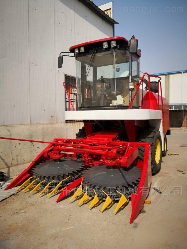 自走式青贮玉米收割机秸秆机青贮机