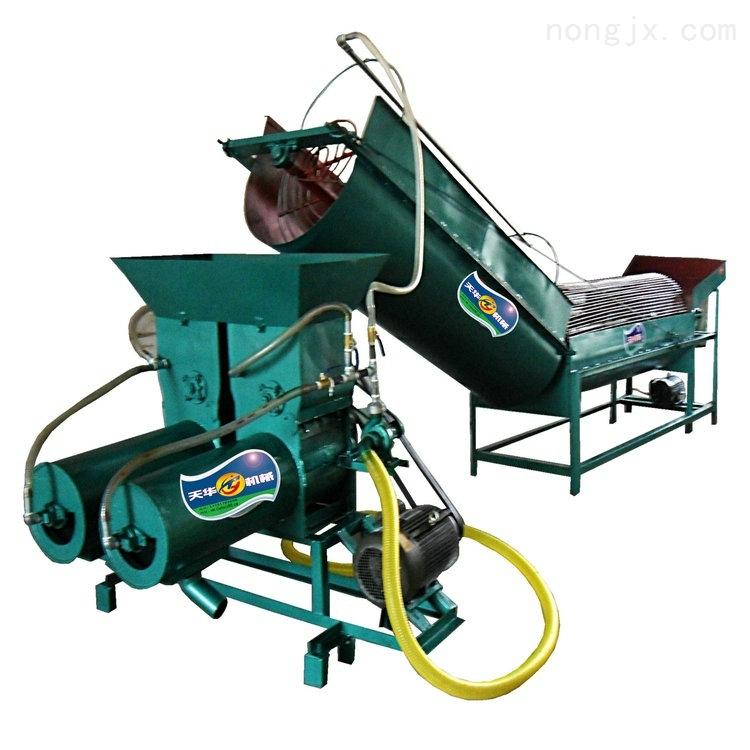 全自动转笼洗薯淀粉机专业机械