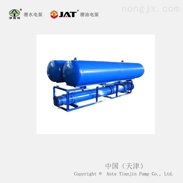 大排量海平面安装浮筒式潜水泵