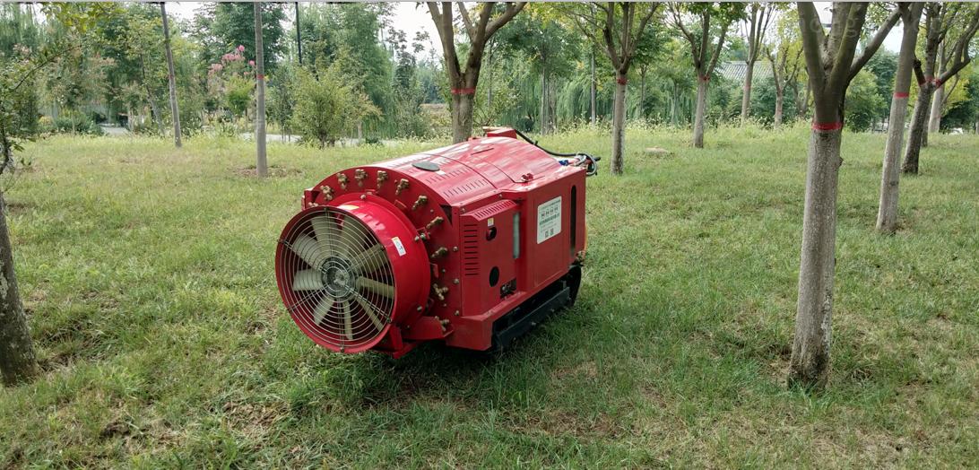 3WFS-300A01-半自动自走式风送喷雾机