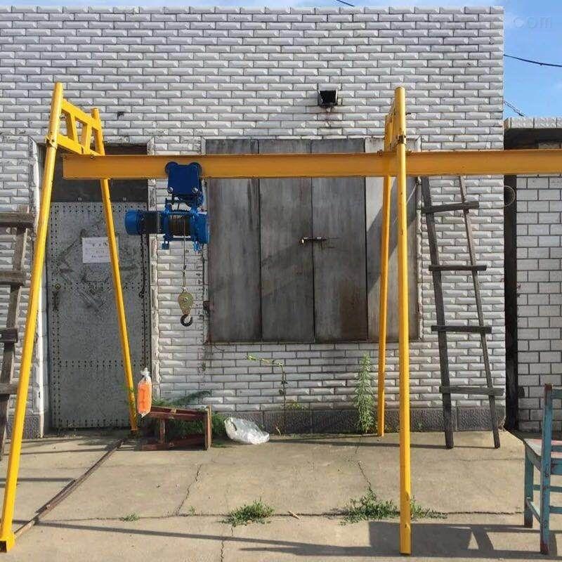 小吊机建筑装修吊运机工字钢滑行吊料机吊车